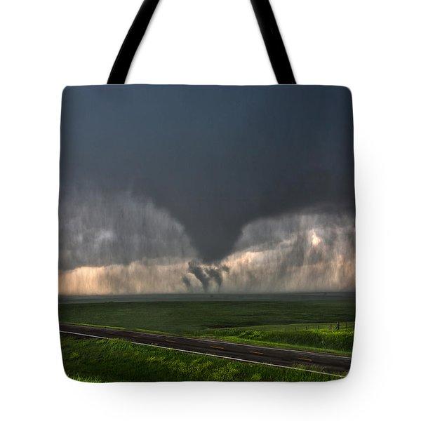 Tripple Vorticies Tote Bag