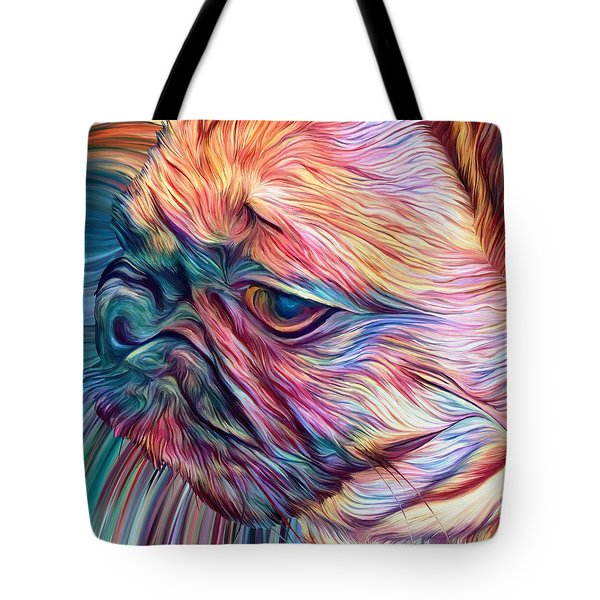 Trippy Arabella Tote Bag by Matt Lindley