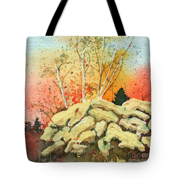 Triptych Panel 2 Tote Bag