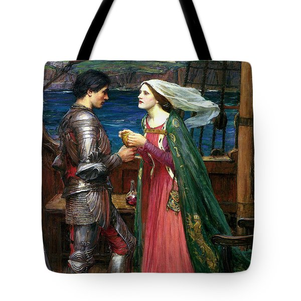 Tristan And Isolde With The Potion Tote Bag
