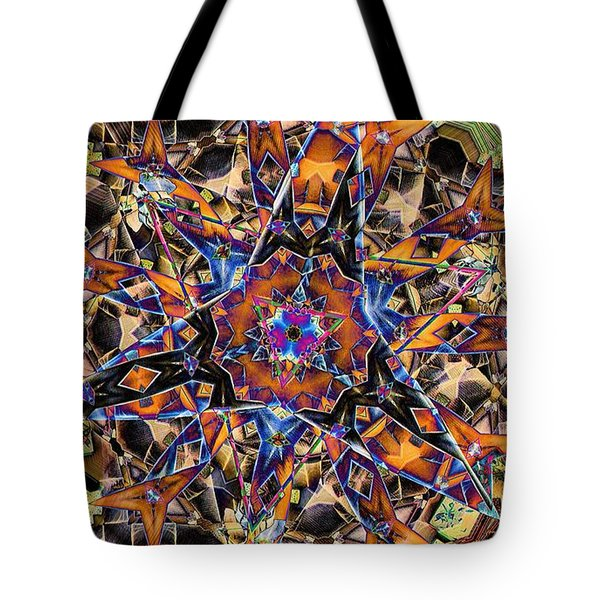 Tristar Tote Bag by Ron Bissett