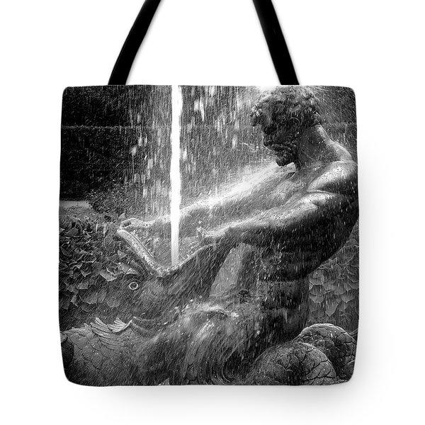 Triton Fountain Tote Bag