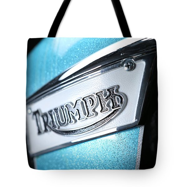 Triumph Badge Tote Bag