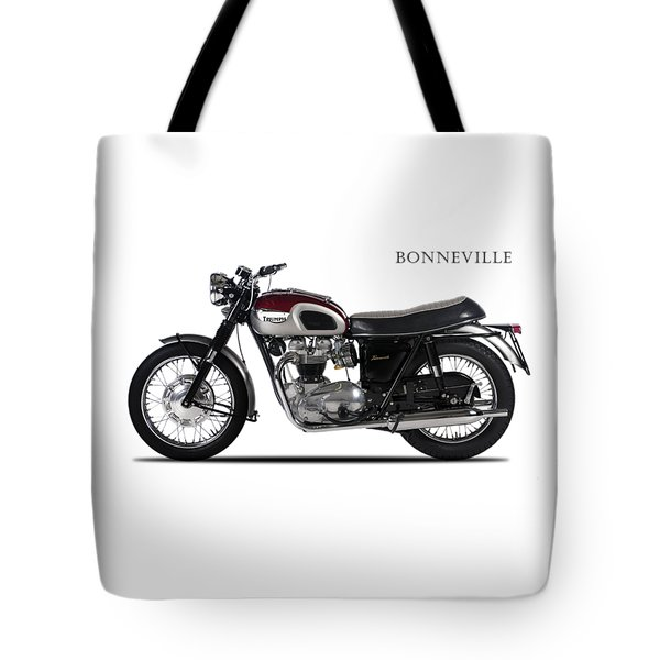 Triumph Bonneville 1968 Tote Bag by Mark Rogan