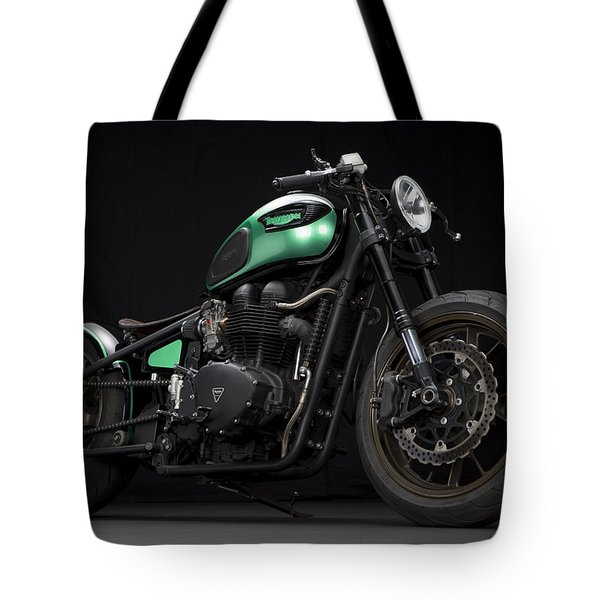 Triumph Green Bobber Tote Bag