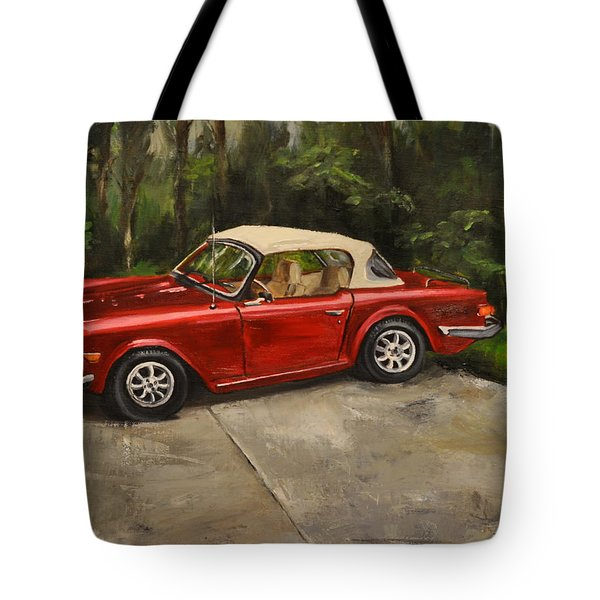 Triumph Tote Bag by Lindsay Frost