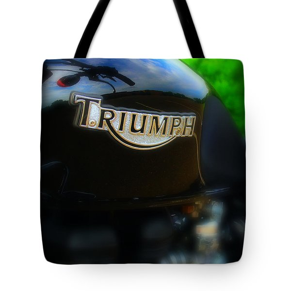 Triumph Tote Bag by Perry Webster
