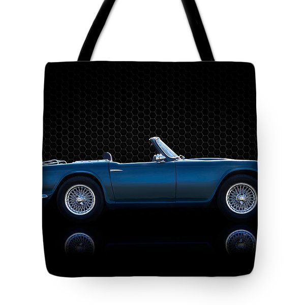 Triumph Tr4 Tote Bag by Douglas Pittman