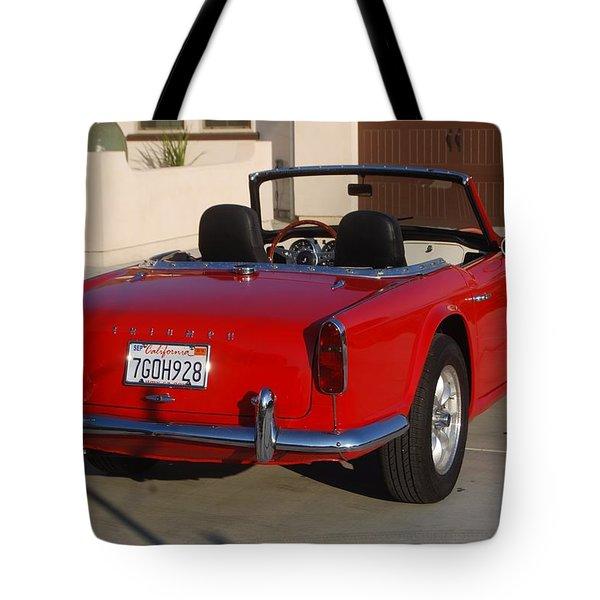 Triumph Tr4 Tote Bag