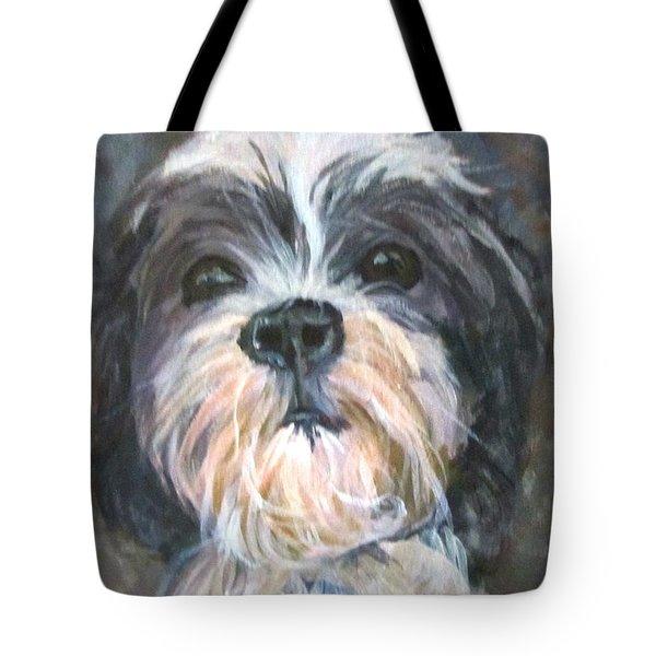 Trixie Tote Bag by Barbara O'Toole