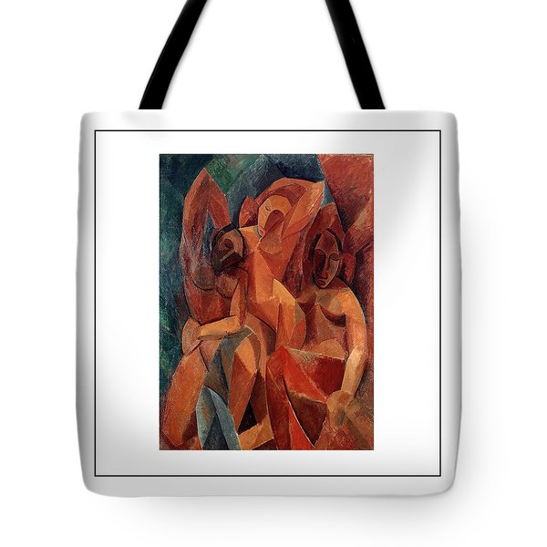 Trois Femmes Three Women  Tote Bag by Pablo Picasso