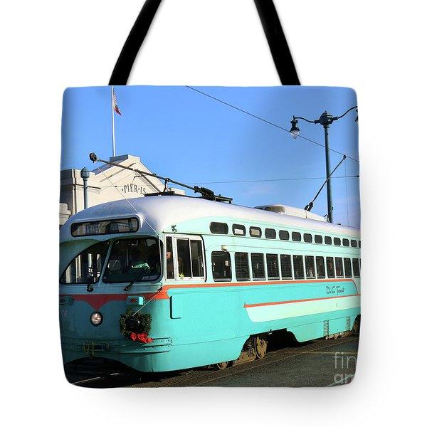 Trolley Number 1076 Tote Bag