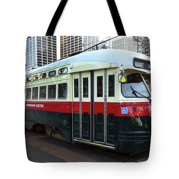 Trolley Number 1077 Tote Bag