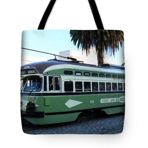 Trolley Number 1078 Tote Bag