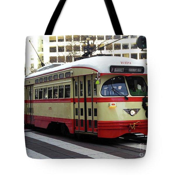 Trolley Number 1079 Tote Bag