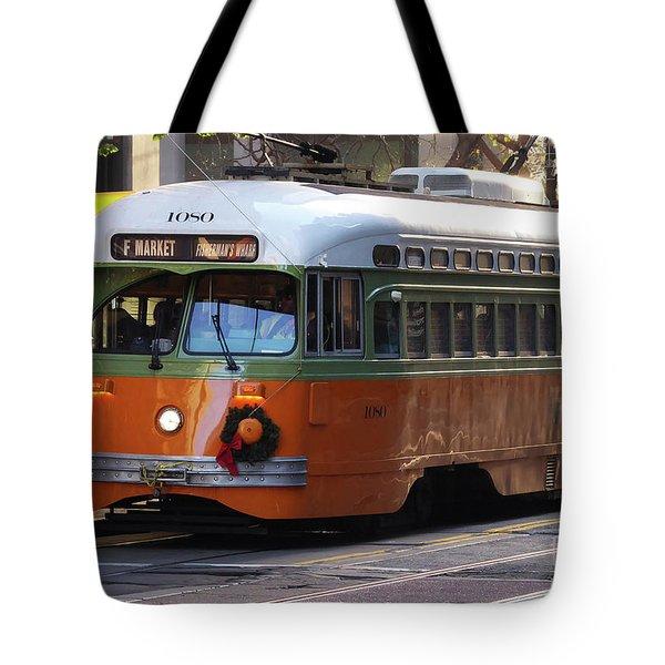 Trolley Number 1080 Tote Bag