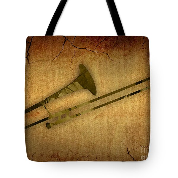 Trombone Collection Tote Bag