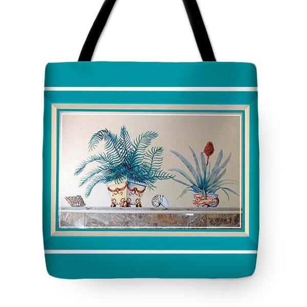 Trompe L'oeil Plants Tote Bag