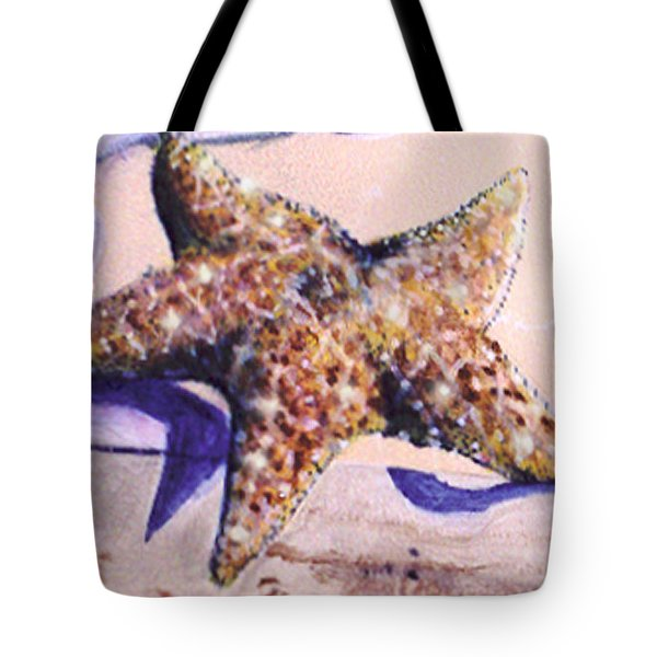 Trompe L'oeil Star Fish Tote Bag