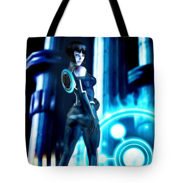Tron Quorra Tote Bag