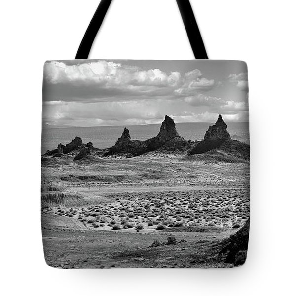 Trona Pinnacles Peaks Tote Bag by Marius Sipa