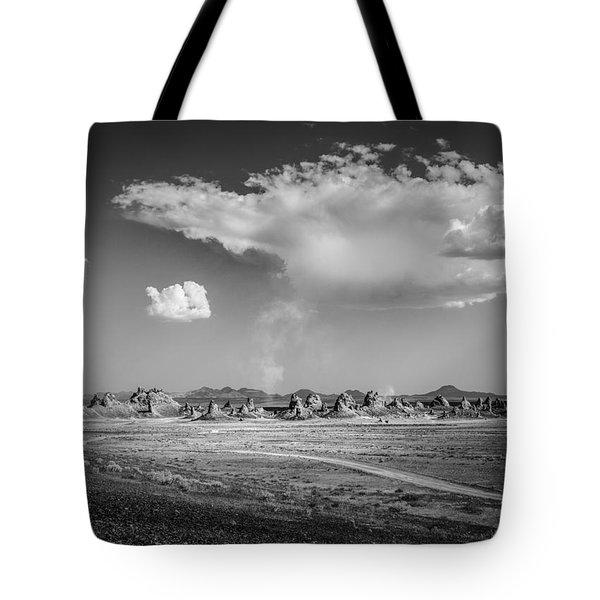 Trona Pinnacles Road  Tote Bag