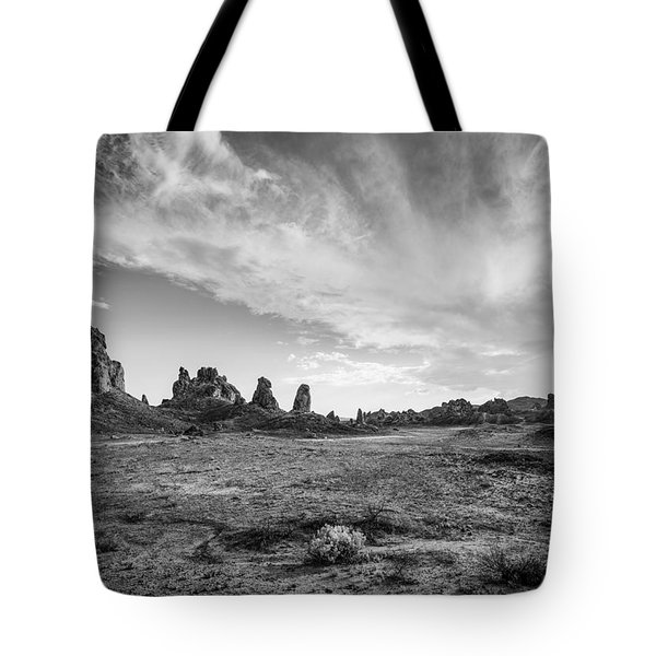 Trona Pinnacles Sky Tote Bag