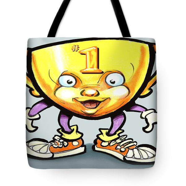 Trophy Tote Bag by Kevin Middleton