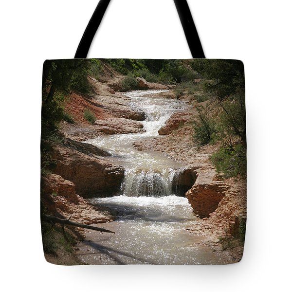 Tote Bag featuring the photograph Tropic Creek by Marie Leslie