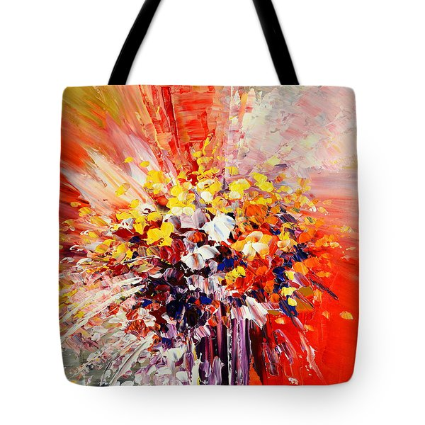 Tropic Intensity Tote Bag
