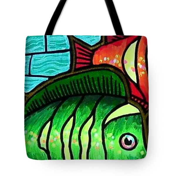 Tropic Swim Tote Bag