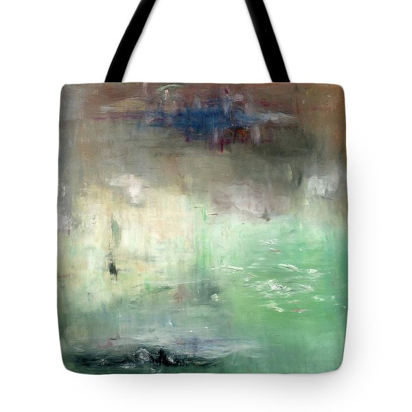 Tote Bag featuring the painting Tropic Waters by Michal Mitak Mahgerefteh