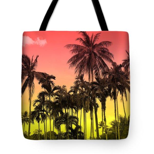 Tropical 9 Tote Bag
