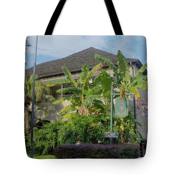 Tropical Atmosphere In St Augustine Tote Bag