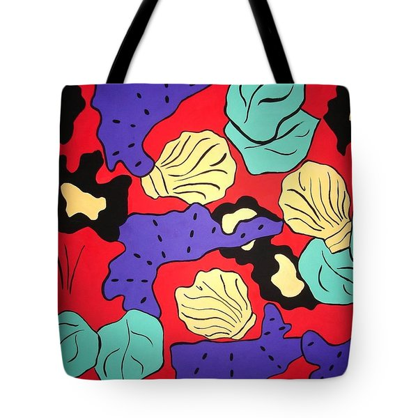 Tropical Beauty Tote Bag by Vickie G Buccini