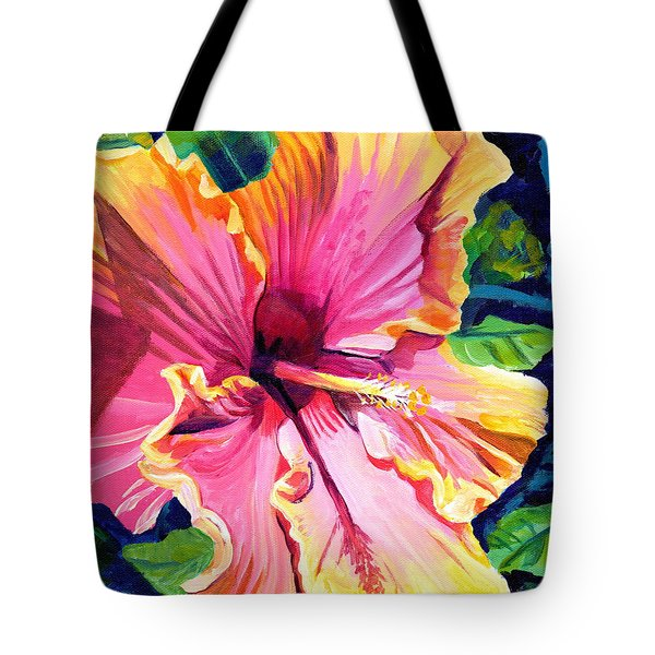 Tropical Bliss Hibiscus Tote Bag