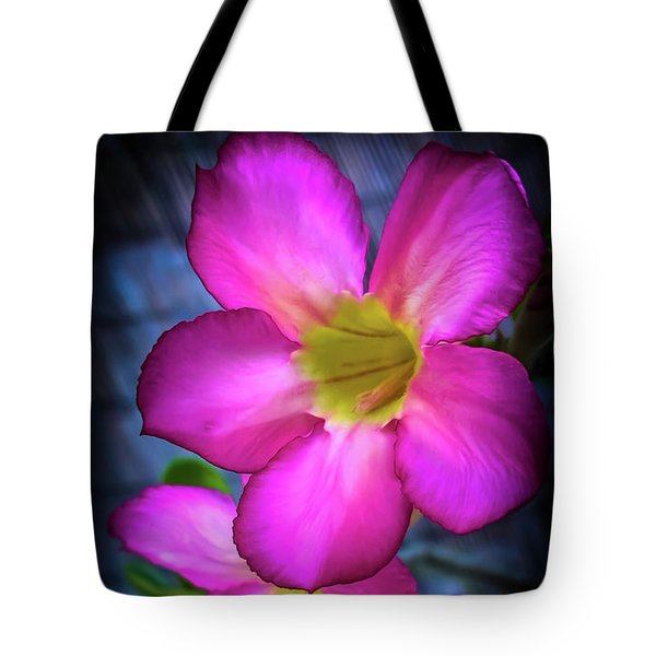 Tropical Bliss Tote Bag by Karen Wiles