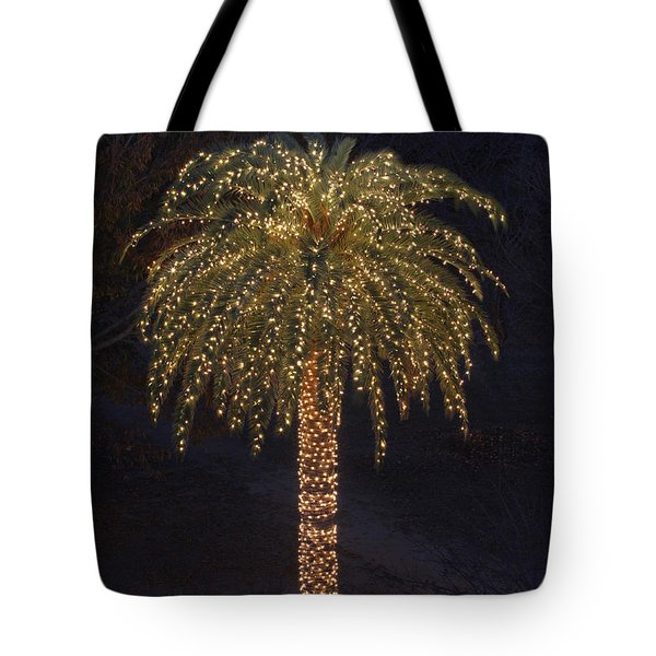 Tropical Christmas Tote Bag by Kevin McCarthy