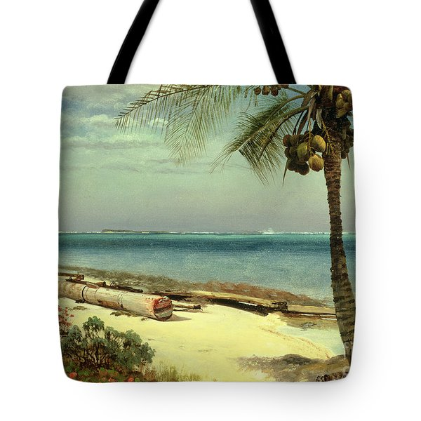 Tropical Coast Tote Bag