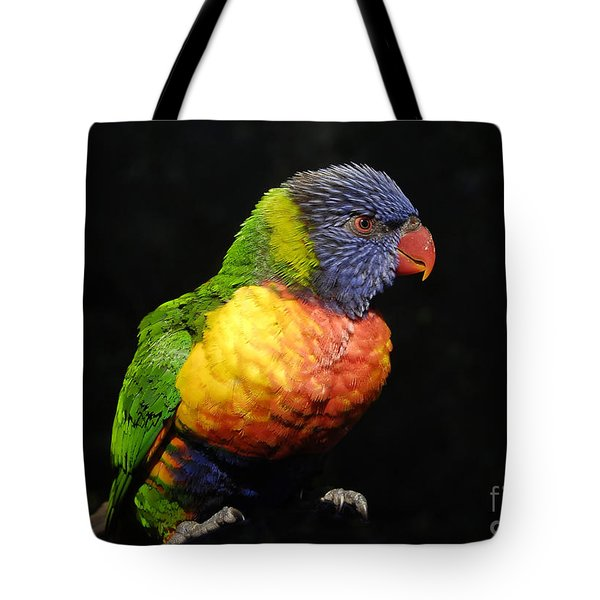 Tropical Colors Tote Bag by David Lee Thompson