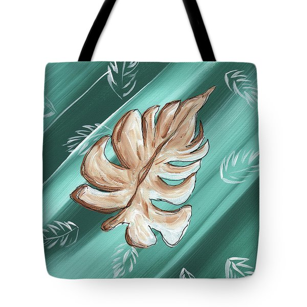 Tropical Dance 1 By Madart Tote Bag by Megan Duncanson