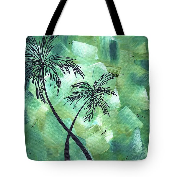 Tropical Dance 3 By Madart Tote Bag by Megan Duncanson