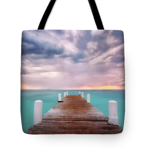Tropical Drama Tote Bag by Nicki Frates
