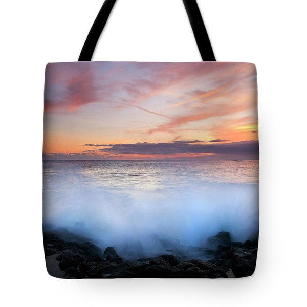 Tropical Explosion Tote Bag by Mike  Dawson
