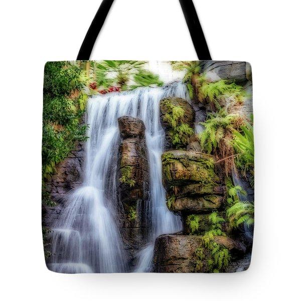 Tropical Falls Tote Bag