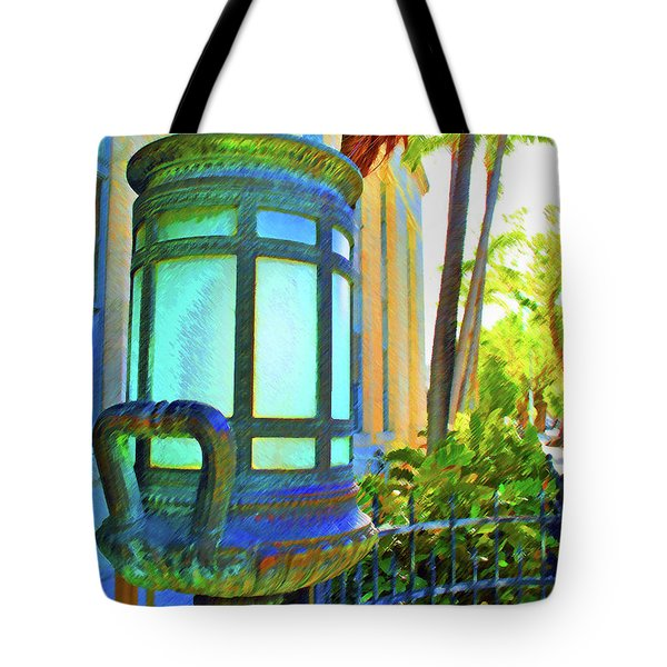 Tote Bag featuring the photograph Tropical Federal by Jost Houk