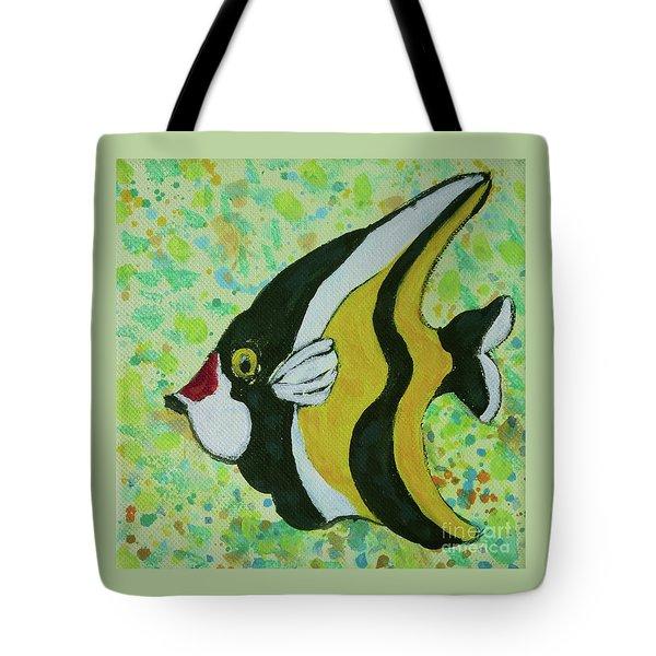 Tropical Fish Series 1 Of 4 Tote Bag