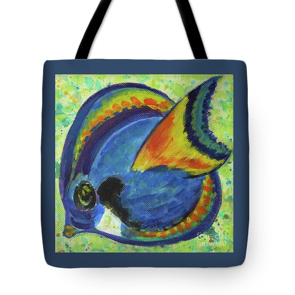 Tropical Fish Series 3 Of 4 Tote Bag
