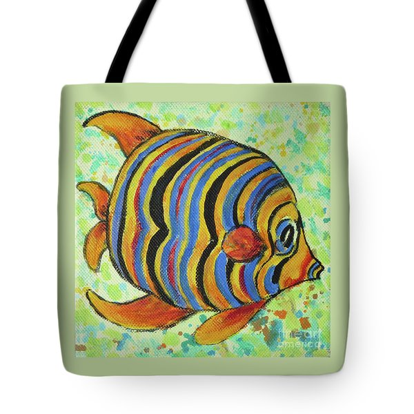 Tropical Fish Series 4 Of 4 Tote Bag