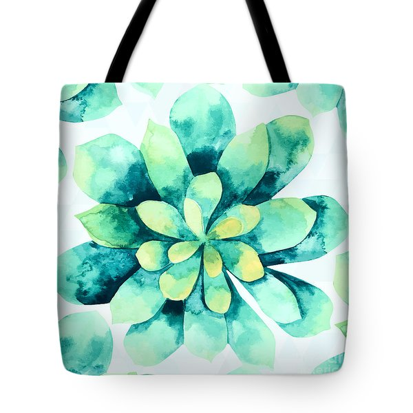 Tropical Flower  Tote Bag by Mark Ashkenazi